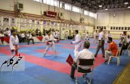 مسابقات استعدادیابی هیات کاراته شهرستان رشت