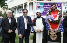 با حضور شهردار رشت انجام شد: استقبال از قهرمان گیلانی والیبال جهان