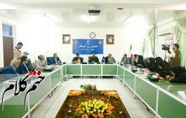 همایش تجلیل سپاه ناحیه مرکزی رشت از خبرنگاران