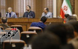 نشست خبری رئیس  سازمان برنامه و بودجه کشور در رشت