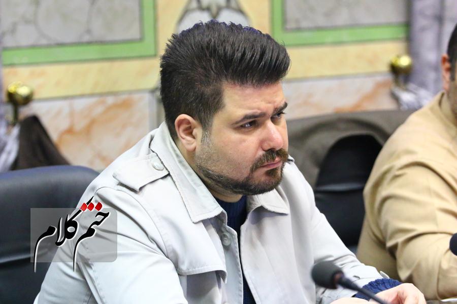 نطق متفاوت بهراد ذاکری در هشتادو سومینجلسه شورای شهر رشت خطاب به رئیس جمهور