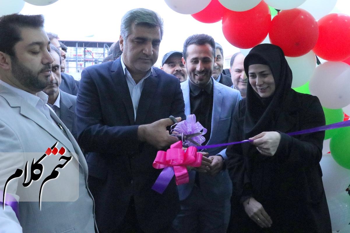 افتتاح دو پروژه خدماتی شهرستان رشت با حضور استاندار گیلان