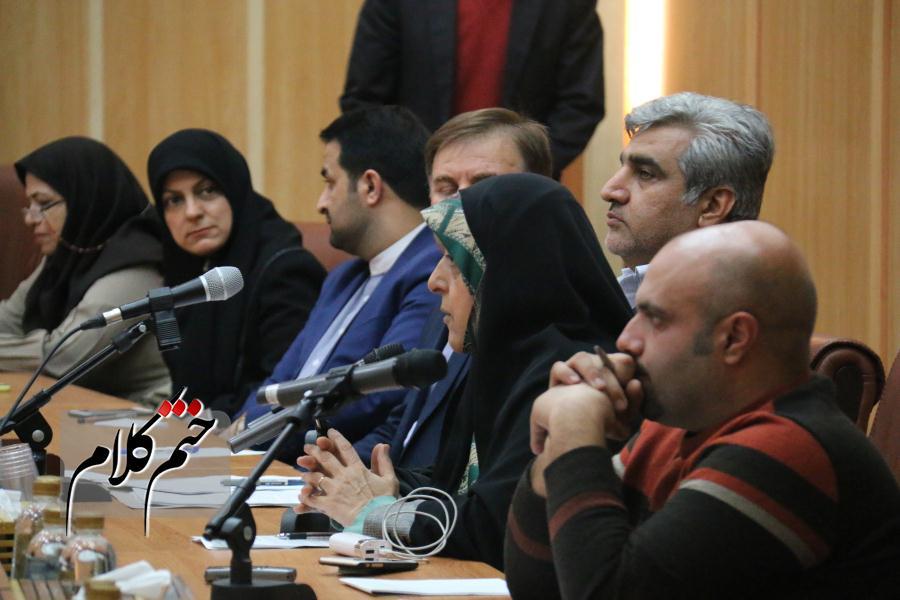 گزارش تصویری نشست گفتگوی ملی خانواده با حضور معاون رئیس جمهور در امور بانوان-استانداری گیلان