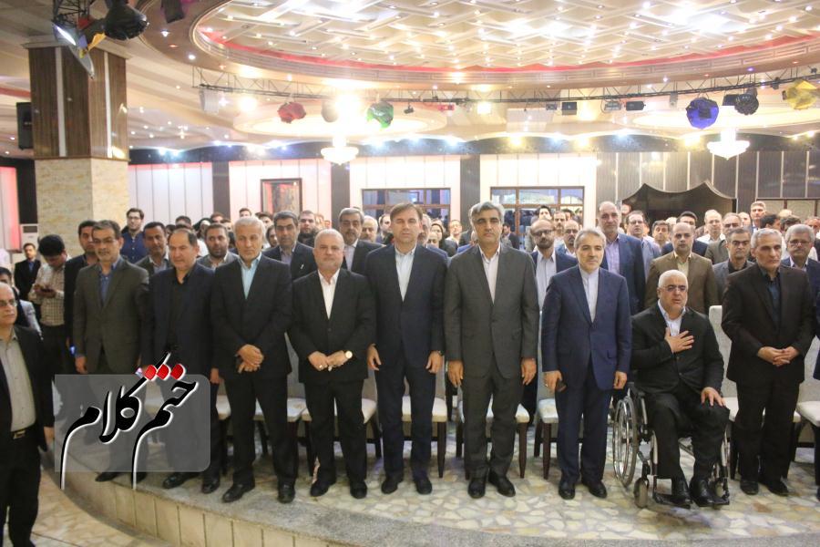گزارش تصویری/مراسم افطاری حامیان دولت در رشت با حضور دکتر نوبخت معاون گیلانی رئیس جمهور