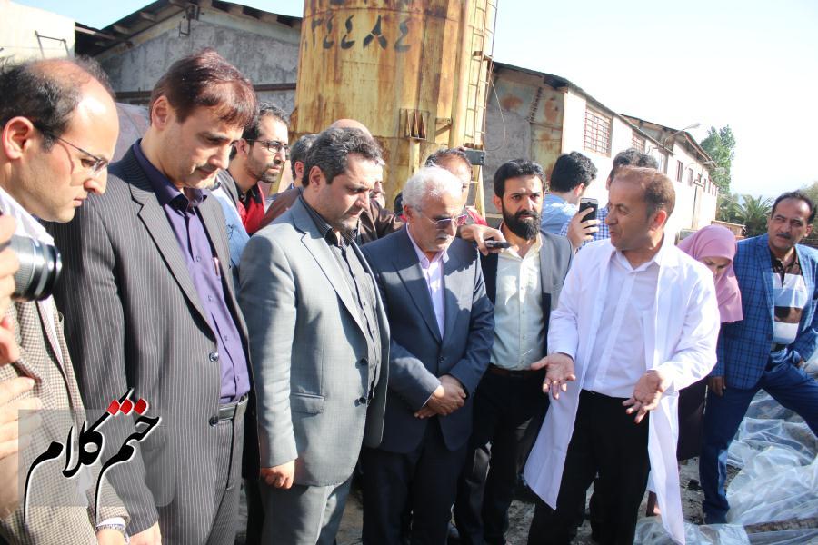 گزارش تصویری بازدید از هیات اعزامی به کارخانه بلیش لوشان