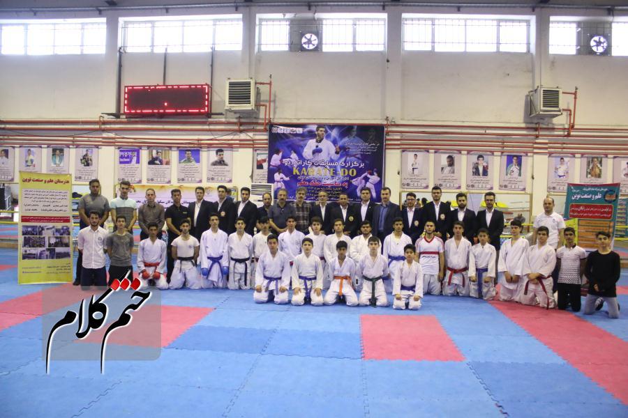 گزارش تصویری مسابقات کاراته_دو به مناسبت هفته معلم در رشت