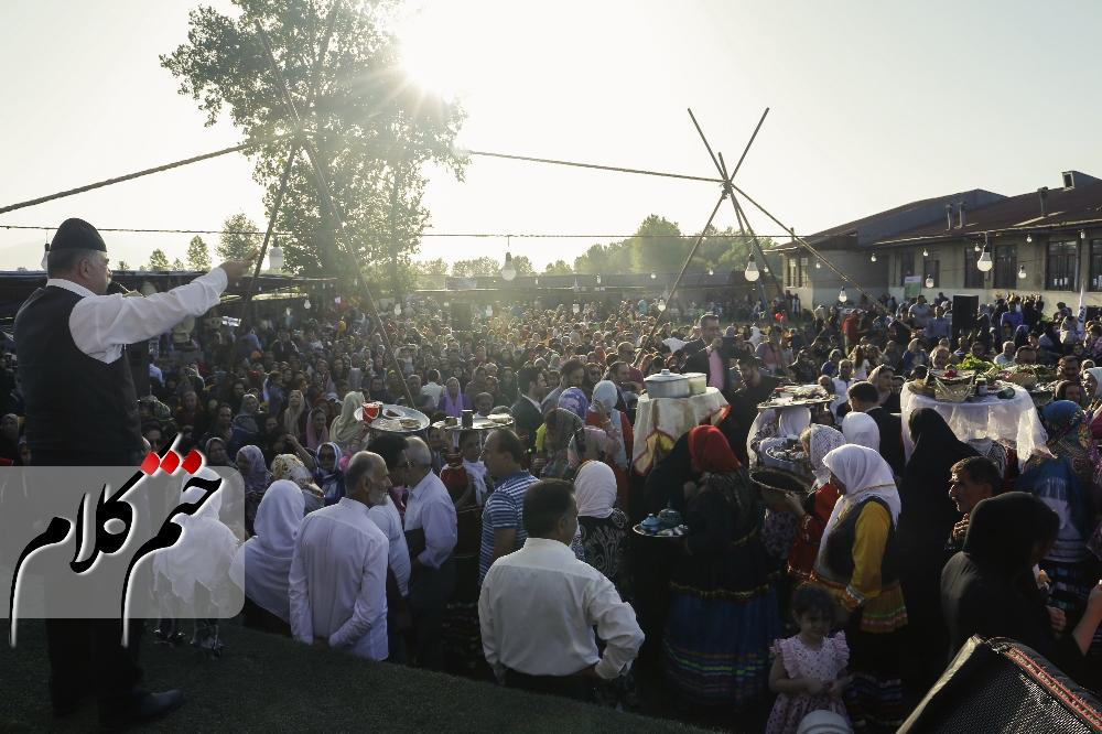 جشنواره خرشه در روستای دافسار