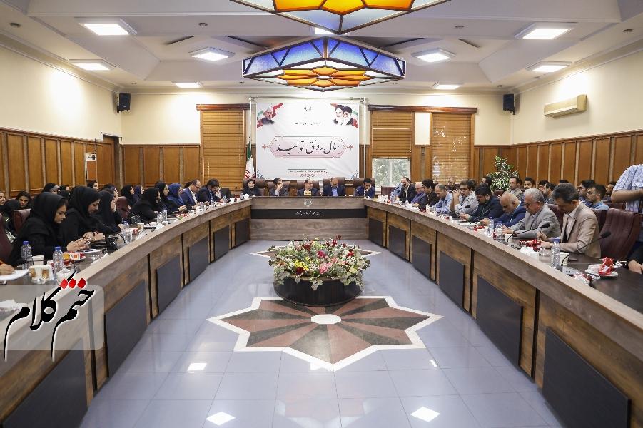 نشست تجلیل از اصحاب رسانه شهرستان شت