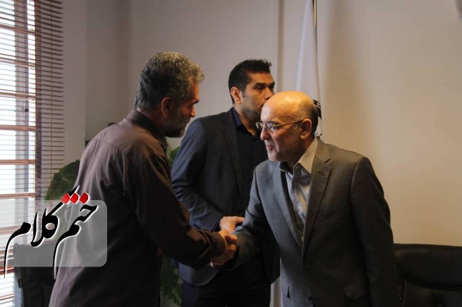 مراسم تودیع و معارفه مدیرعامل سازمان حمل بار و مسافر شهرداری رشت