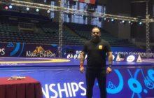 حضور مهدی مهراب پور داور گیلانی در مسابقات قهرماني جهان در كشور قزاقستان