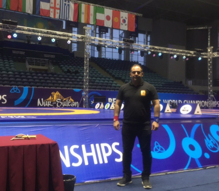 حضور مهدی مهراب پور داور گیلانی در مسابقات قهرمانی جهان در کشور قزاقستان