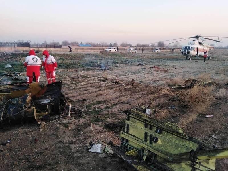 سقوط هواپیمای اوکراینی در شهریار/ تمام سرنشینان جان باختند/ ۱۴۷ ایرانی و ۳۲ خارجی جان باختگان سانحه امروز