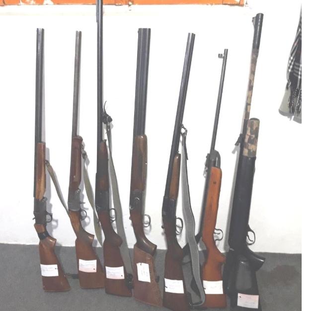 تعداد ۱۱ قبضه سلاح شکاری در تالش کشف و ضبط شد