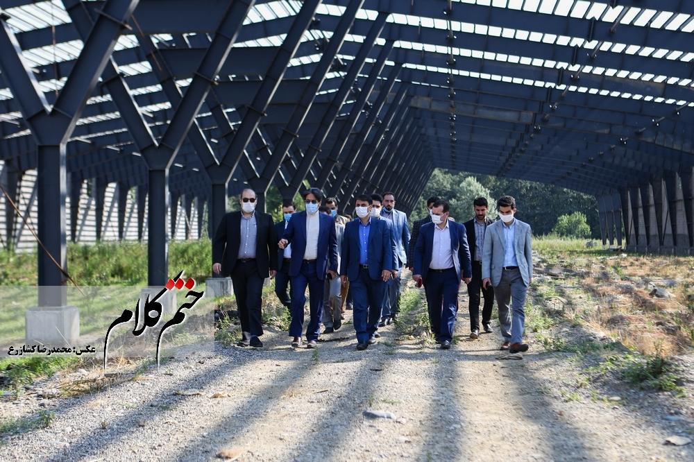 بازدید دکتر فتح اللهی از شرکت کودآلی گیلان