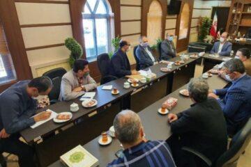 جلسه انجمن حمایت از زندانیان شهرستان لنگرود به روایت تصویر