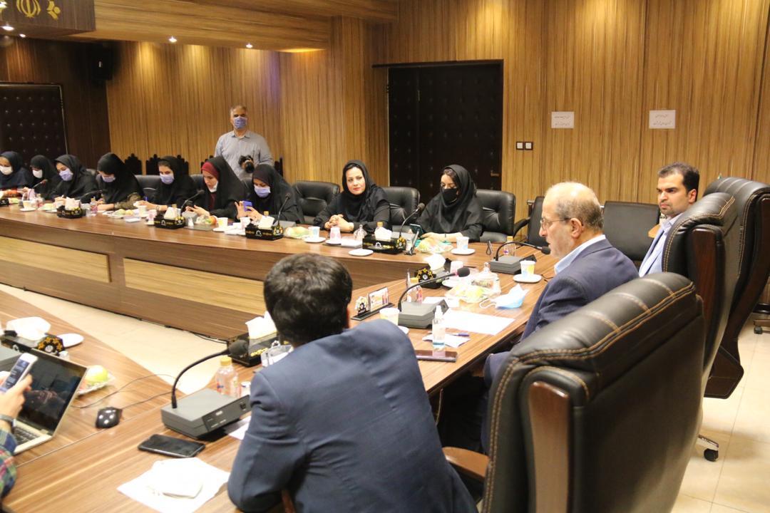 تعامل قانونمند شورای شهر رشت با ادارات استانی