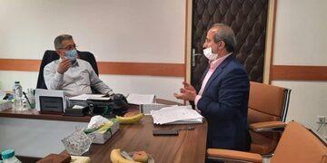 رئیس دانشگاه علوم پزشکی گیلان در دیدار با معاون درمان وزیر بهداشت تأکید کرد: تکمیل و بهرهبرداری از طرحهای درمانی گیلان نیازمند تخصیص اعتبارات ملی است