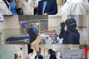 در اولین ساعات بامداد امروز صورت گرفت؛ بازدید سرزده رییس دانشگاه علوم پزشکی گیلان از اورژانس مرکز دانشگاهی رازی رشت