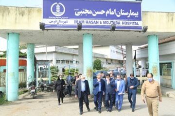 طرح توسعه اورژانس بیمارستان فومن هفته دولت به بهرهبرداری میرسد
