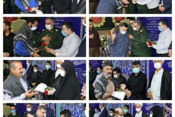 تقدیر از رزمندگان شاغل در شهرداری لنگرود به روایت تصویر