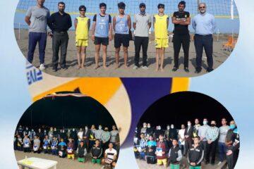 سکوی سوم از آن تیم والیبال ساحلی زیر ۱۶ سال لنگرود