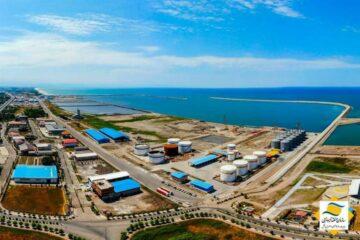 در سال جهش تولید به دست آمد: افزایش ۴۶ درصدی صادرات از طریق بنادر منطقه آزاد انزلی