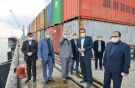 افتتاح طرح های زیرساختی حوزه بندری منطقه آزاد انزلی در بهمن ماه با حضور رئیس جمهور