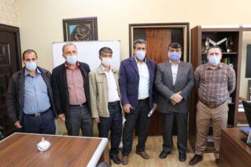 تقدیر شهردار و رئیس شورای اسلامی شهر از بازنشستگان شهرداری لنگرود