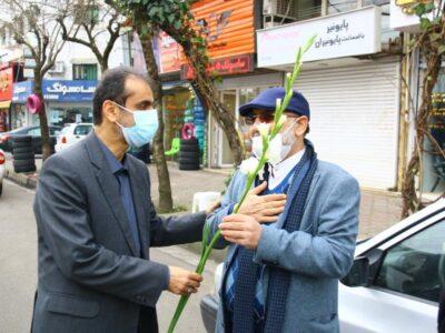گزارش تصویری/تجلیل از تلاشگران عرصه حمل و نقل به مناسبت فرارسیدن ۲۶ آذر