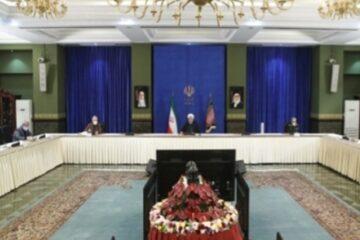 دکتر روحانی در جلسه ستاد ملی مقابله با کرونا: پروتکل های بهداشتی به عنوان یک واجب بزرگ باید به طور دقیق از سوی همگان رعایت شوند