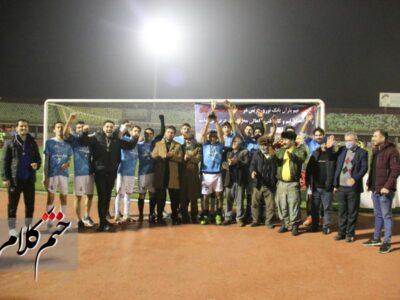 گزارش تصویری/بازی و تجلیل از تیم فوتبال قهرمان لیگ محلات گیلان