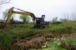 جلوگیری از تخریب و تصرف سه هکتار از اراضی تالابی بندر انزلی