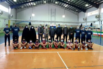 باشگاه شهرداری لنگرود میزبان بزرگترین رویداد انتخابی والیبال در رده نونهالان استان گیلان