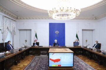 روحانی در جلسه کمیته های تخصصی ستاد مقابله با کرونا؛ تمدید اعمال محدودیت ها تا پایان هفته آینده در شهرهای قرمز و نارنجی