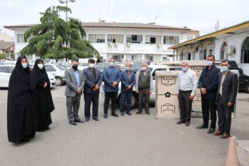 استمرار کمک های ورزشی شهرداری و شورای اسلامی شهر لنگرود به مساجد و محلات