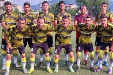 پیروزی شهرداری لنگرود در هفته دوم لیگ دسته یک فوتبال بزرگسالان استان گیلان