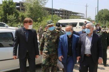 قول مساعد فرمانده نزاجا برای خرید یک سوله درمانی ۳۰۰ تخته در گیلان