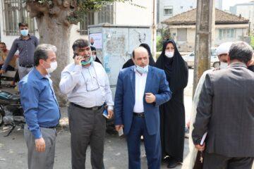 آغاز نهضت آسفالت در خیابان شهید چمران لنگرود