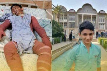نوجوان فداکار خوزستانی، آسمانی شد