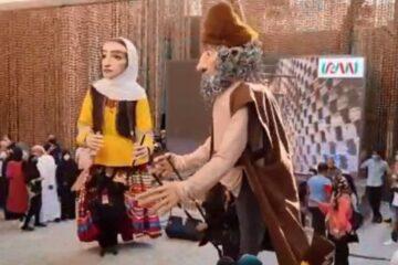 از سوی سازمان منطقه آزاد انزلی صورت گرفت: حضور عروسک های غول پیکر نمایش های آئینی گیلان زمین در نمایشگاه اکسپو دبی ۲۰۲۰